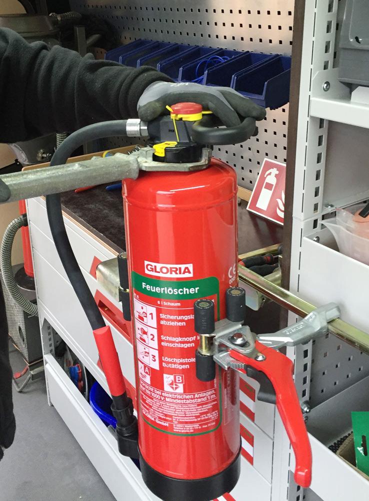 Feuerlöscher | Prüfung und Wartung von Wandhydranten